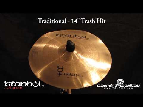 "Istanbul Trash Hit 14"" Cymbal"