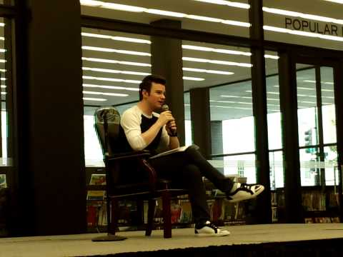Chris Colfer Q&A 7/14/14
