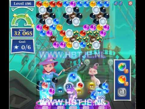 Bubble Witch Saga 2 level 196