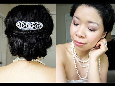 Twilight Breaking Dawn: Bella's Wedding Hair and Makeup Tutorial. Giveaway at the end.