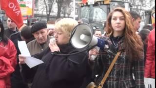 Agenți economici și patentarii din piață au ieșit la protest