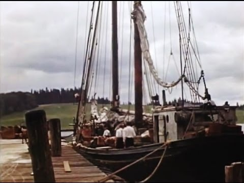 1939 Home Movie Lunenburg Nova Scotia Canada