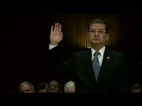 VA Secretary Shinseki questioned at congressional hearing