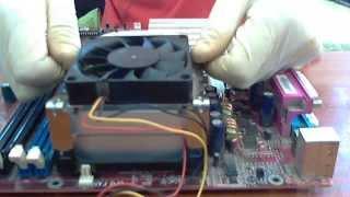 Cambiar el cooler y ventilador a la Pc