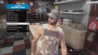 How To Dress Up As A Soldier GTA Online Tutorial