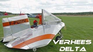 4K UHD Verhees Delta  What a fantastic little plane Airshow Sanicole 2016 HD HQ