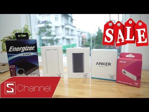 Schannel - Tặng miễn phí 5 pin dự phòng dưới 1 triệu CỰC HOT & SALE MẠNH tại CellphoneS