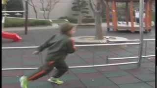10 Years Old Parkour