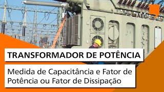 Medidor de capacitância e fator de potência / dissipação