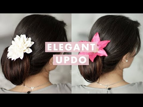 Up-Do Hair Tutorial For Long Hair
