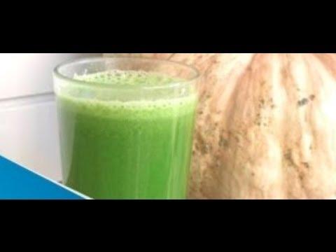Licuado para tener un vientre plano y mejorar la circulación y digestión// DELICIOSO jugos verdes