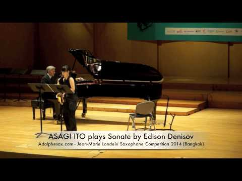 ASAGI ITO plays Sonate by Edison Denisov