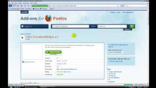 How To Download Video Clips On Any Website. (using Mozilla
