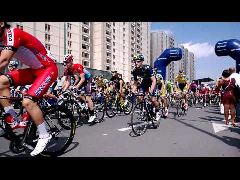 The start of stage 2 of the @dubaitour #dubaitour2014