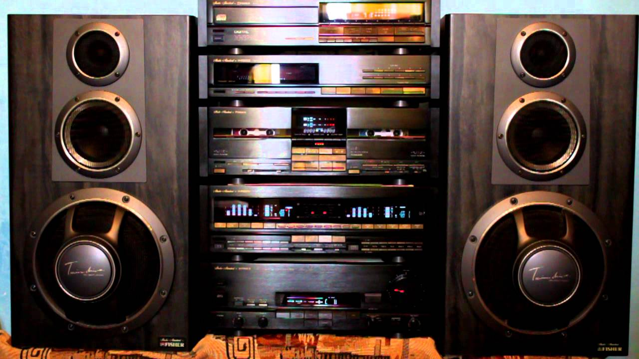 Fisher Stereo System Vintage Youtube
