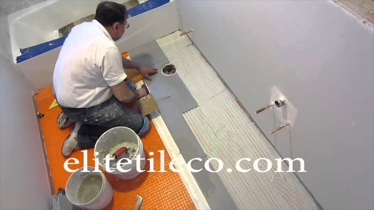 Part 7 How To Install Wood Look Plank Tile On Schluter