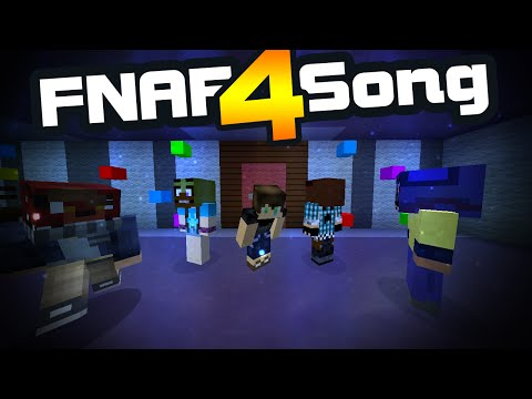 FNAF 4 SONG   Town   MINECRAFT