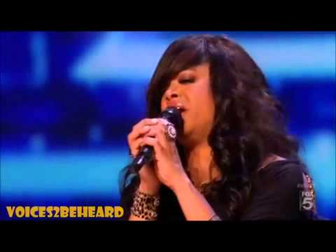 This is Stacey Francis ( US X Factor Winner)
