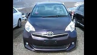 Toyota Ractis 2011 года