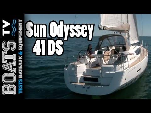 Jeanneau Sun Odyssey 41 DS, le voilier grand confort