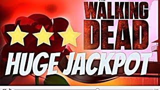 *** HUGE JACKPOT*** The WALKING DEAD Slot Machine MAX BET