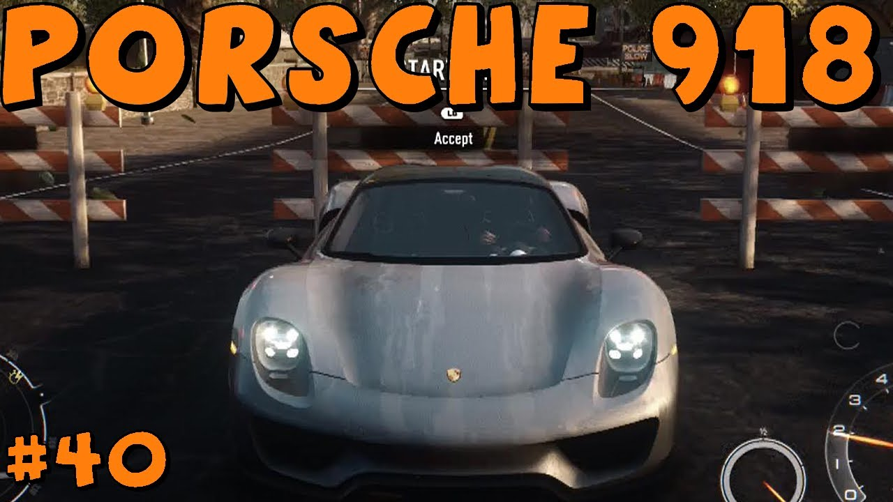 need for speed rivals xbox one part 40 porsche 918 spyder youtube. Black Bedroom Furniture Sets. Home Design Ideas