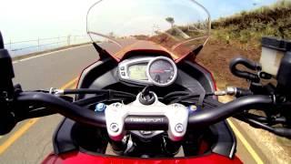 Teste: Tiger Sport 1050 tem mais aptid�o para rodar no asfalto