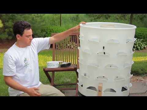 Garden Tower Setup: Assembly