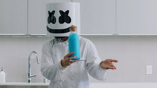 FORTNITE SHIELD POTION DIY   Cooking with Marshmello