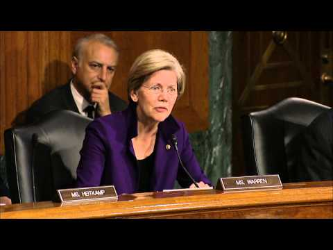 Sen. Warren's Q&A with Janet Yellen