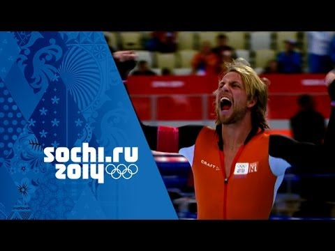 Men's Speed Skating Golds Inc: Sven Kramer Sets Olympic Record For Gold | Sochi Olympic Champions