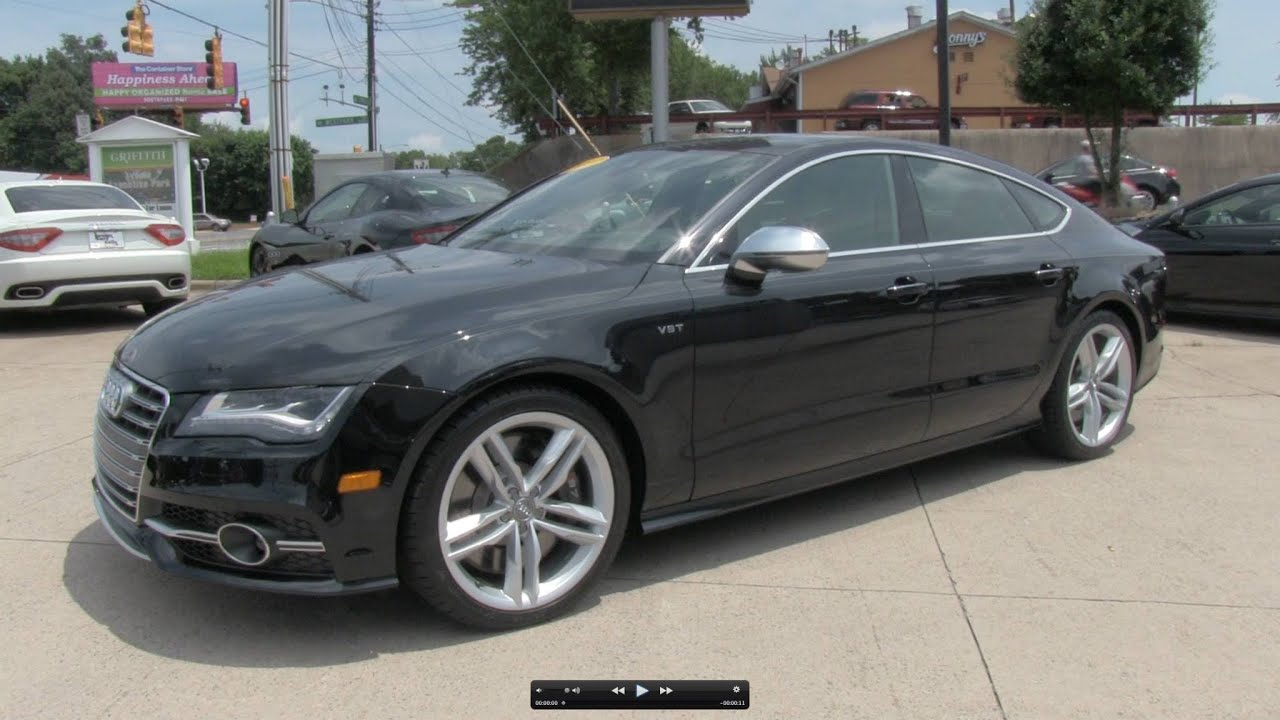2013 Audi S7 Sportback Prestige Start Up Exhaust And In