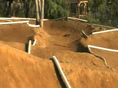 Insane Backyard Rc Track Action Youtube