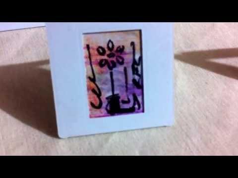 Cuadros, porta retratos y llaveros pintados a mano a la venta