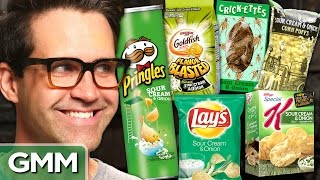 Snack Taste Test: Sour Cream & Onion