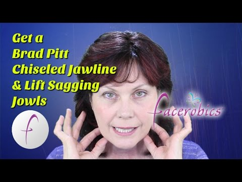 Chiseled Jawline Exercise for Men Lift Sagging Jowls Exercise for Women | FACEROBICS®