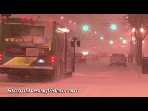 2/4/2014 Dayton, OH Winter Storm B-Roll