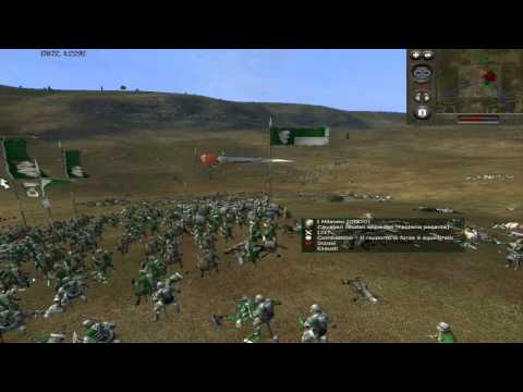 Medieval 2 Total War Battle Dualcommentary: Papisti Vs Milanesi By Magister & Oddo - Parte 2/2