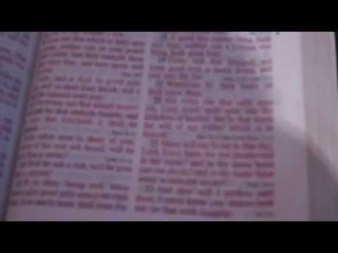 Matthew 7:21-23, how the saved and unsaved interpret...
