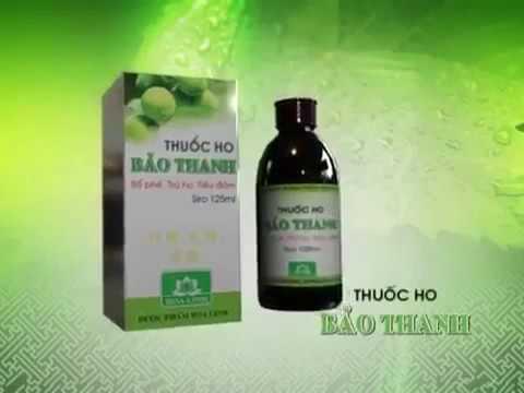 Susi quảng cáo thuốc ho Bảo Thanh 2013