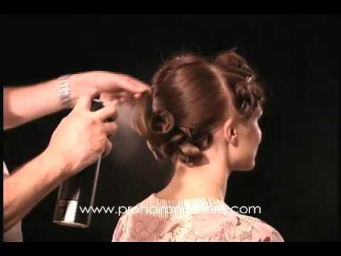 Como hacer un peinado de noche o boda paso a paso solo - Como realizar peinados ...