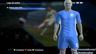 PES 2013 Kits Camisetas Para PC Premier League Arsenal