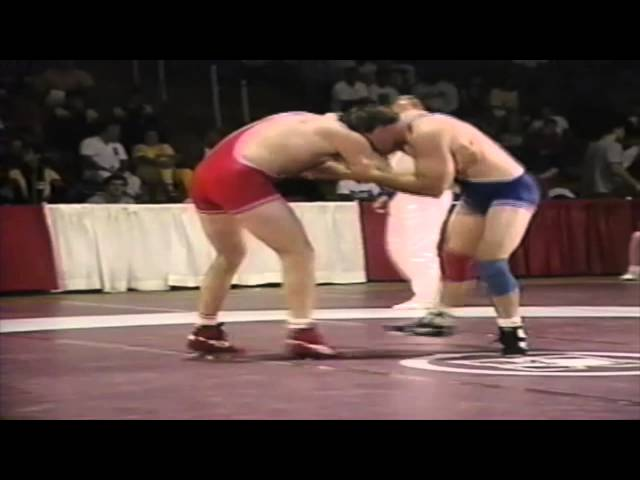 1992 Canada Cup: 100 kg Bronze John Matile (CAN) vs. Gavin Carrow (CAN)