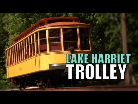 Lake Harriet Trolley - The Choo Choo Bob Show