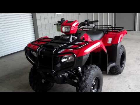 2014 Foreman ES 500 SALE at Honda of Chattanooga TN / TRX500FE2E Power Steering