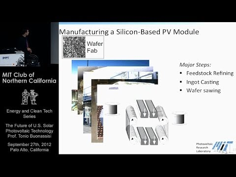 The Future of U.S. Solar Photovoltaic Technology - Tonio Buonassisi