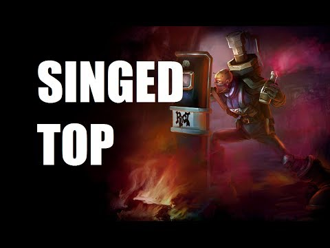 League of Legends - Riot Singed Top - Full Game Commentary