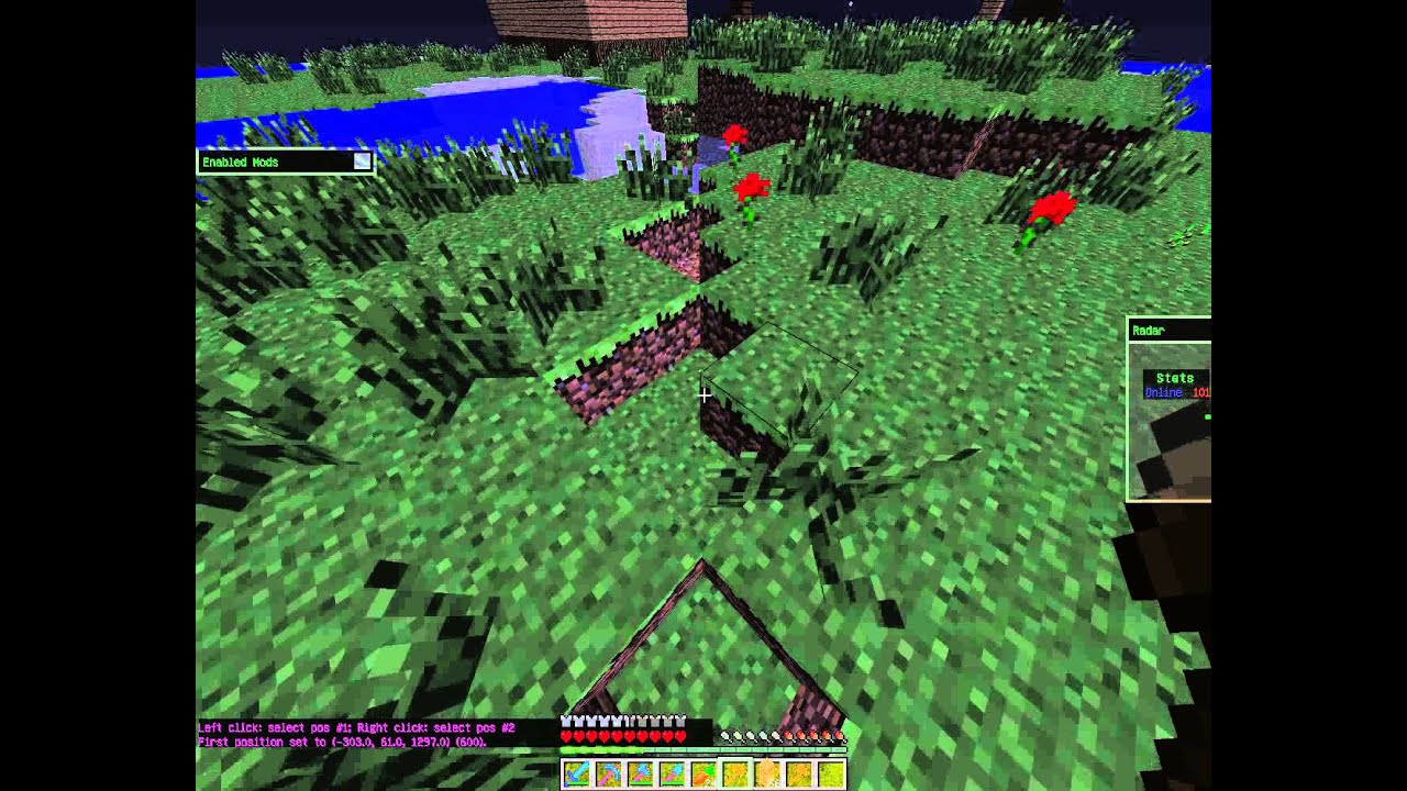 Как заприватить территорию в minecraft 1.8.2, 1.8.1, 1.8 ...