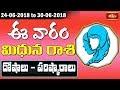 Gemini Weekly Horoscope By Dr Sankaramanchi Ramakrishna Sastry   24 June 2018 - 30 June 2018