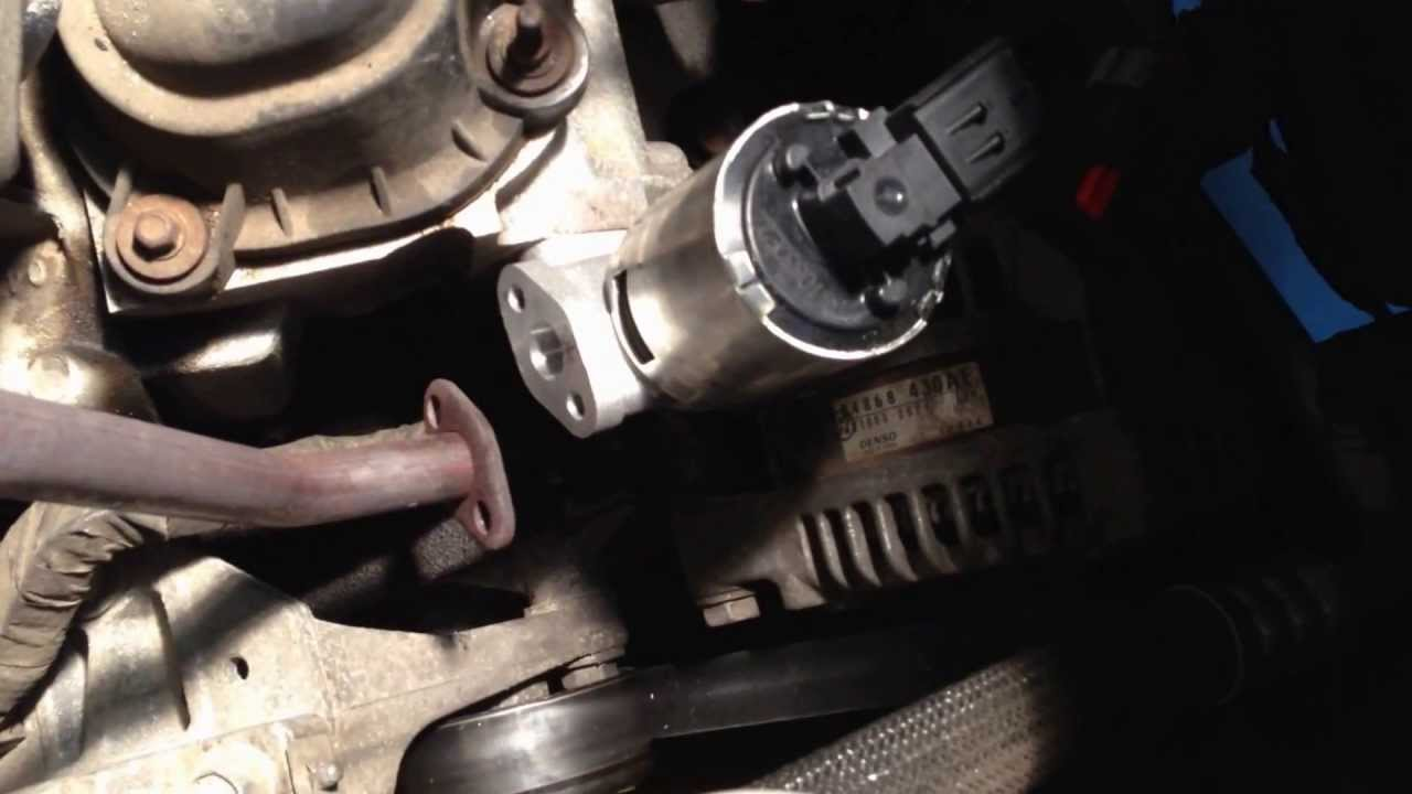 Town And Country Egr Valve Replacement Without Removing